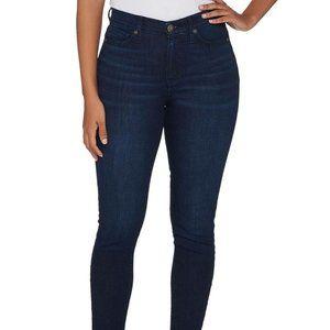 Isaac Mizrahi TRUE Denim Skinny Ankle Jeans